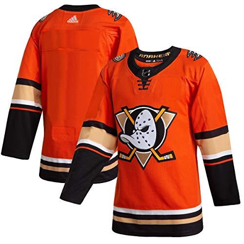 adidas Anaheim Ducks Men's Orange 2019/20 Alternate Authentic Jersey (56/XXL)