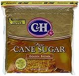 C&H Cane Sugar Golden Brown 2lb Bag Pack of 2