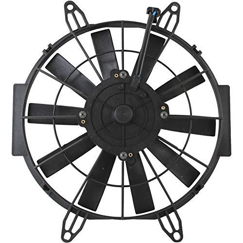 Caltric Radiator Cooling Fan Motor for Polaris 2410383