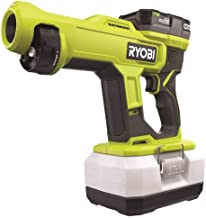 RYOBI ONE+ 18V Cordless Handheld Electrostatic Sprayer Kit with (2) 2.0 Ah Battery and Charger