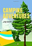 camping adventures log book: Camping Journal & RV Travel Logbook best Family Camping Vacation Logbook Camping adventure planner to record favorite vacation memories