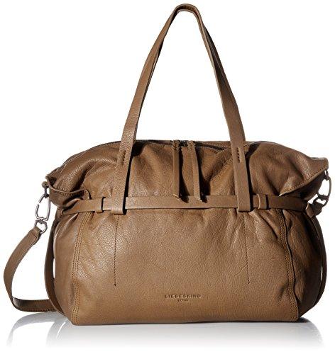 Liebeskind Berlin Damen Handtasche mit oberen Griff, Sioux Beige, Einheitsgröße