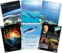 Ultimate David Attenborough BBC Nature DVD Collection: Life / Frozen Planet / Life Stories / Planet Earth / Blue Planet
