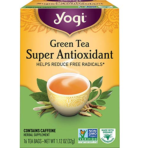 Yogi Tea - Green Tea Super Antioxidant (6 Pack) - Organic Green Tea...