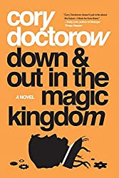 book cover of Down and Out in the Magic Kingdom - books set in Orlando
