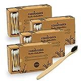 Bastoncillos de algodón prémium de bambú 100 % biodegradables,...