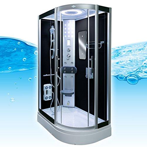 AcquaVapore DTP8060-7302R Dusche Dampfdusche Duschtempel Duschkabine 80×120, EasyClean Versiegelung der Scheiben:2K Scheiben Versiegelung +89.-EUR - 3