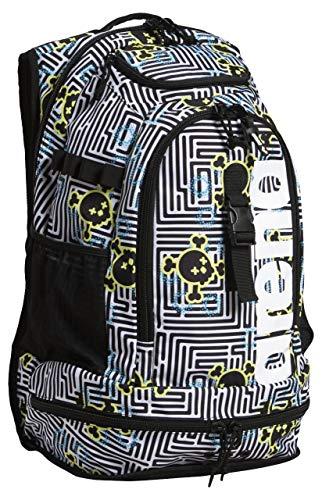 ARENA Fastpack 2.2 Allover Mochila, Adultos Unisex, Crazy Labyrinth (Multicolor), Talla Única