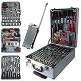 Luxus Werkzeugkoffer Werkzeugbox Werkzeugtrolley Werkzeugkiste Werkzeugkasten 288 teilig
