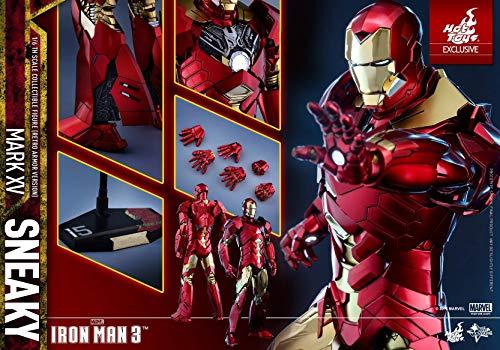 Hot Toys Movie Masterpiece - The Avengers - Iron Man Mark XV (15) Sneaky Retro Armor Version