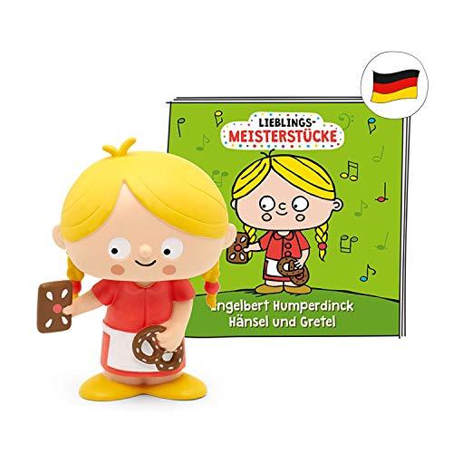 tonies Hörfiguren für Toniebox - Lieblings-Meisterstücke -Grimms Märchen Hänsel und Gretel - ca. 46 Min. - Ab 5 Jahre -DEUTSCH