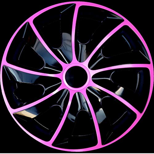 Premium Radkappen PINK Line-zweischichtig lackiert, 4 Stück, Art.Q, Neu (14 Zoll)