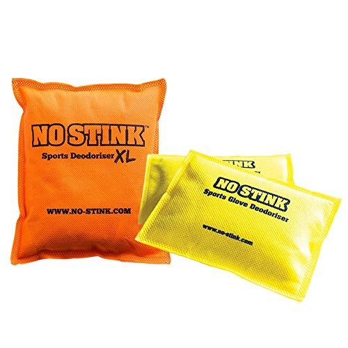 No Stink Unisex/'s Sports Glove Deodouriser Yellow One Size