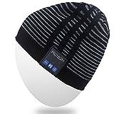 Mydeal Männer Frauen Bluetooth Audio Musik Beanie Hat Cap mit Stereo-Lautsprecher...