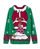 Der Nikolaus strickt Pullover