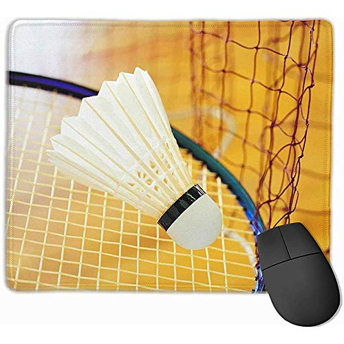 25X30CM Weißes Badminton Mobile Gaming Mouse Pad