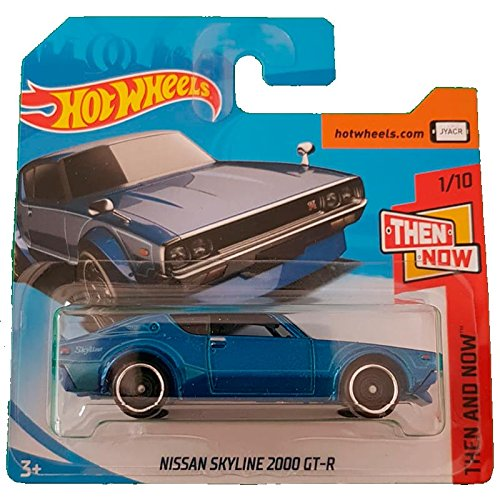 Hot Wheels Nissan Skyline 2000 GT-R Then and Now 1/10 (118/365)