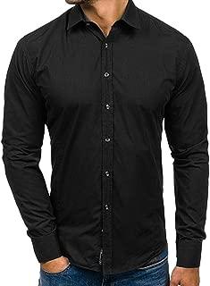 Behype Maglia Polo Uomo Slim Fit Camicia A Maniche Corte T-Shirt Nero//Bianco A Quadri Nuovo