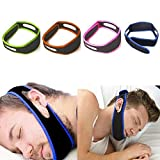 PERFECT SHOPEE Anti-Snoring Easily Adjustable Chin Strap Snore Stopper-Mouthpiece Night Guard for...