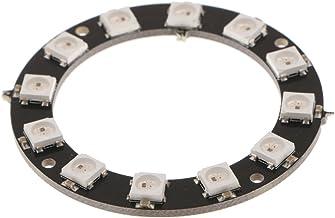 HOMYL High Consistent WS2812 5050 LED Decorative Light Full Color RGB Ring Round Development Board 12-Bit