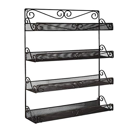 AMT 4 Tier Nail Rack, Pack Metal Wa…