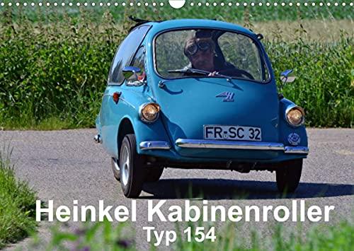 Heinkel Kabinenroller Typ 154 (Wandkalender 2022 DIN A3 quer)