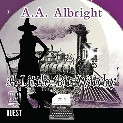 A Little Bit Witchy cover art
