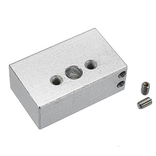 ExcLent Zortrax M200 Aluminum Alloy Hot End Heating Block for 3D Printer