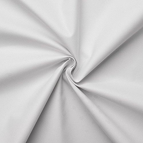 (9,99€/m) Carry - Lona impermeable - 100% poliéster - 21 colores - Por metro (Blanco)