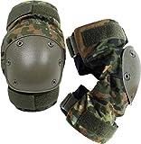 normani Knieschützer mit weichem und dehnbarem Komfortverschluss Farbe Flecktarn
