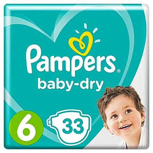 Pampers 81663648 Baby-Dry Pants windeln, weiß