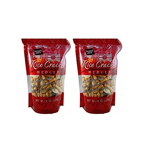 Trader Joe's Rice Crackers Medley 8 Ranking TOP3 2 bags Max 77% OFF - oz.