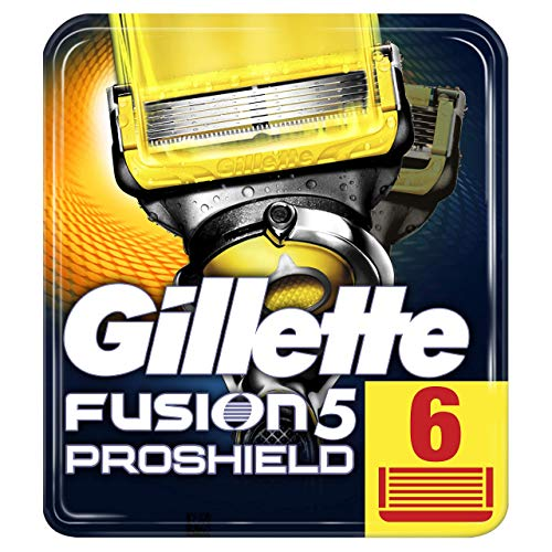 Gillette Männer Fusion5 ProShield Rasierklingen, 1er Pack (1 x 6 Stück)