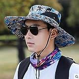 wopiaol Sombrero de Pescador Sombrero de Sol Masculino Sombrero de Sol al Aire Libre...
