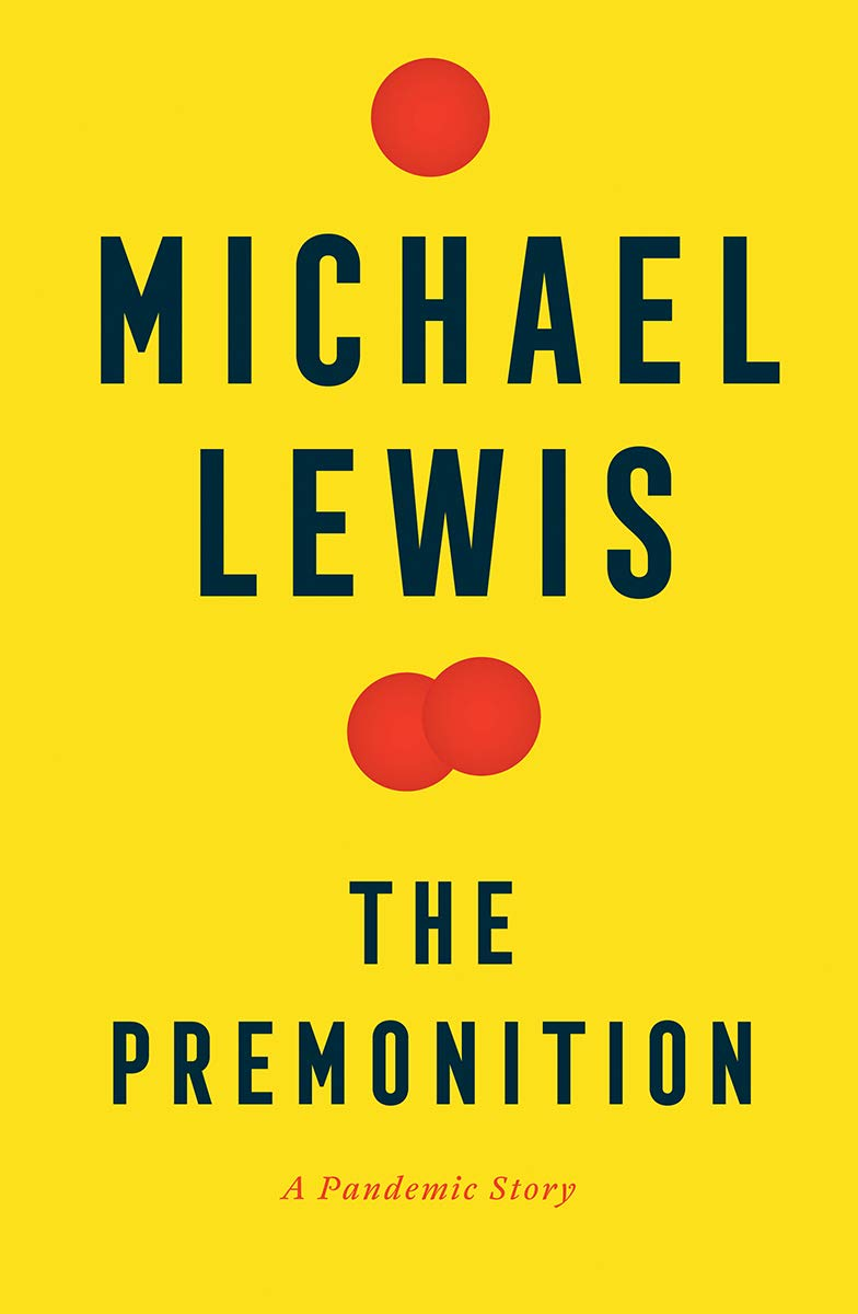Cover image of The Premonition by Michael Lewis