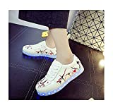 Miarui LED Lumineuse Chaussures USB Rechargeable 7 Couleurs Lumineuse Chaussure...
