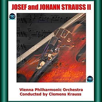Josef and Johann Strauss II