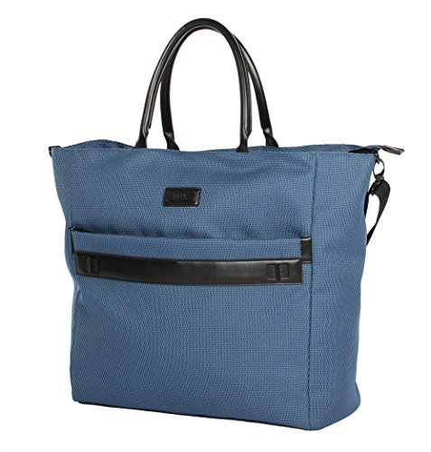 Nicole Miller New York Coralie Collection 19' Carry On Tote Bag (19 in, Coralie Blue)