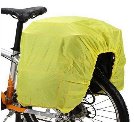 Promostrex Fahrrad Abdeckung - Fluoreszierende Hülle - dehnbar & flexibel - Cover Rad-Koffer/Rad-Tasche Abdeckung - Regenschutz Wasserschutz - Besser gesehen Werden - Sicherheit (1)
