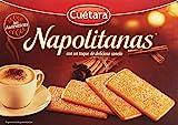 Cuétara - Napolitanas - Con un toque de deliciosa canela 500 gr - Pack de 2 (Total 1000 grams)