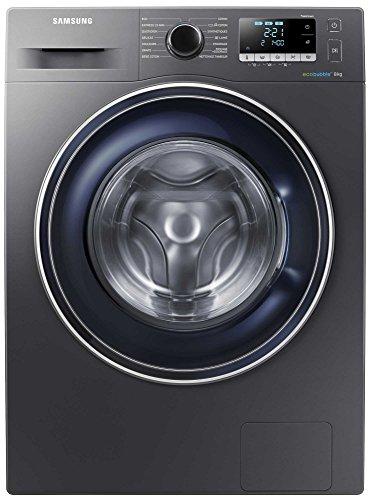 Lave linge hublot 8 Kg Samsung WW80J5556FXEF - Lave linge Frontal - Essorage 1400 tr/min - Fin différée - Affichage temps restant - 79 dB - Pose libre - Classe énergétique A+++ -10%
