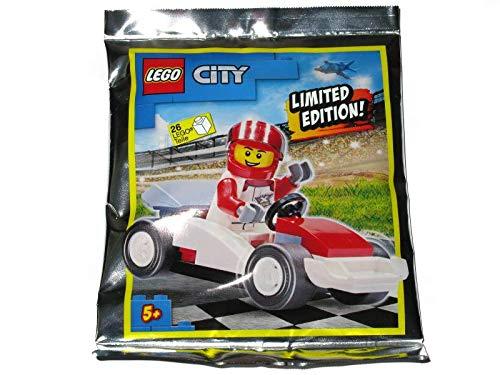 Blue Ocean LEGO City Driver and Race Car Foil Pack Set 952005 (Enbolsado)