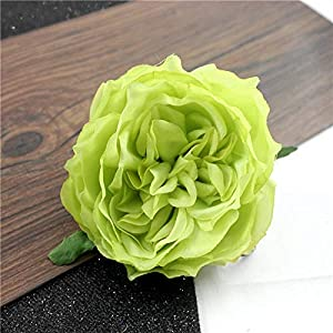 YSQSPWS Artificial Flowers 5PCS Wedding Flowers Camellia Party Home Decoration Wreath DIY Scrapbooking Crafts Lifelike