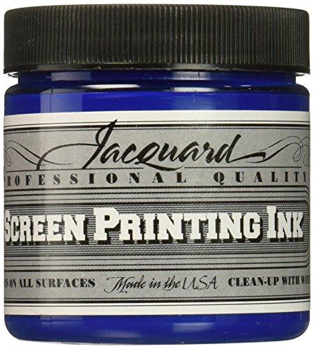 Jacquard JAC-JSI1142 Screen Printing Ink, 4 oz, Process Cyan