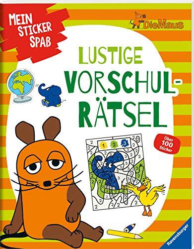 Mein Sticker Spaß Die Maus: Lustige Vorschulrätsel