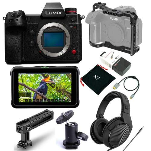 Panasonic Lumix DC-S1H Mirrorless Digital Camera, Body...