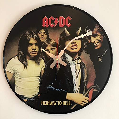 Iconico orologio da parete ACDC ac/dc Highway to Hell in vinile