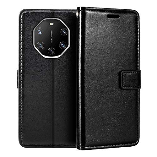 Huawei Mate 40 RS Porsche Design Wallet Hülle Premium PU Leder Magnetic Flip Hülle Cover with Card Holder and Kickstand for Huawei Mate 40 RS Porsche Design