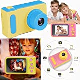 DollsnKings Mini-Summer Vacation Digital Camera for Kids Video Recorder with Loop Recording Children