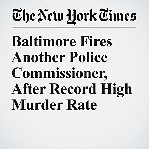 Baltimore Fires Another Police Commissioner, After Record High Murder Rate copertina
